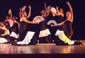 Con la interpretación de 'En Blanco y Negro' por el grupo de 'Hijos del Ayuntamiento de Buján' quedó brillantemente clausurado el 7º Festival de Música y Danzas Españolas.