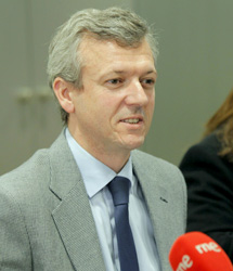 El conselleiro Alfonso Rueda.