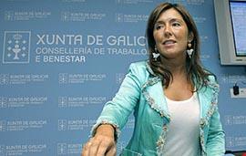 La conselleira de Traballo e Benestar, Beatriz Mato.