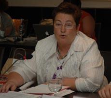 La viceconsejera Teresa Ordiz.