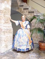 La Fallera Mayor, Milagro Sigalar Marti, viajó a la Comunidad.