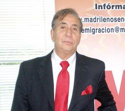 Francisco Puebla presidente del Centro de Madrileños.