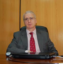 El secretario del Feex, Miguel Ángel Vidal.