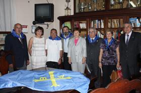 La consejera María José Ramos en los actos del Día de les Lletres Asturianes nel Esterior.
