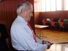 Rafael Gómez cortó la cinta del CAPI.