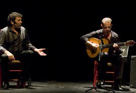 Actuación de la compañía 'Flamenco Vivo'.