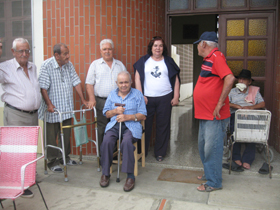 Guillermina en el asilo de Nª Sra. de los Reyes en Quibor, Estado Lara.
