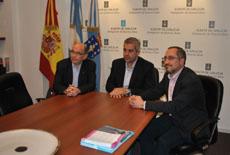 Francisco Durán, López Dobarro y Manuel José Fernández.