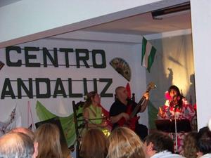 Actuación musical por el 28-F.