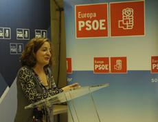 Intervención de Iratxe García en el acto del PSOE Europa.