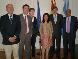 Pilar Pin se reunió con los cónsules españoles en Argentina.