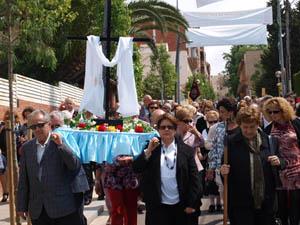 La procesión de la Cruz de Mayo.