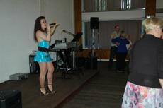La cantante Silay en el Centro Gallego de Londres.