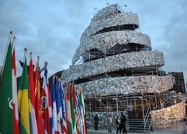 La 'Torre de Babel de Libros'.