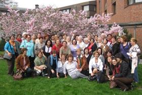 Mujeres españolas en Alemania en una actividad de la Coordinadora.