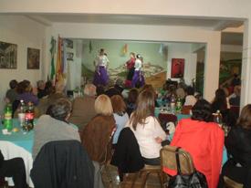 Una de las actuaciones en el Centro Andaluz de Mendoza.