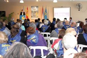 Presentación del curso en el CA de Rosario.