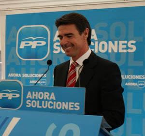 El presidente del PP de Canarias, José Manuel Soria.