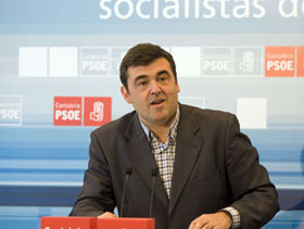 El responsable del PSOE Exterior, Ricardo Cortés.