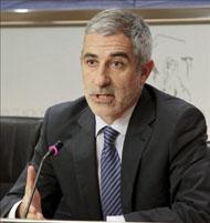 El portavoz de IU en el Congreso, Gaspar Llamazares.