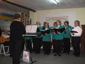 El Coro de la Alegría de la ciudad de San Carlos.