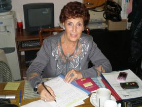 Mª Teresa Michelón encabeza la lista 'Unidos por Nuestros Derechos' y es la actual presidenta del CRE.