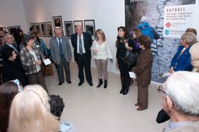 Inauguración de la muestra en Santiago del Estero.