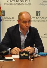 El secretario xeral de Emigración de la Xunta de Galicia, Santiago Camba.