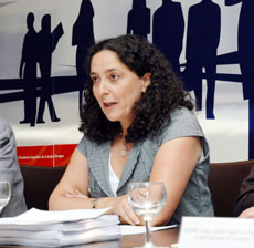 Belén do Campo, en el último pleno del Consejo General de la Ciudadanía Española en el Exterior (CGCEE).