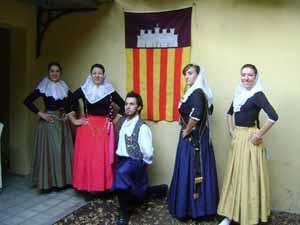 Miembros del conjunto de baile.