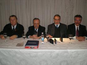 Manuel Padorno, Daniel Vigo Mariñas, Pedro Bello y Félix Daniel Castro Vázquez.