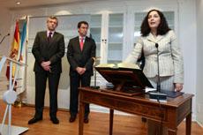 Toma de posesión de Belén do Campo como nueva delegada de la Xunta en A Coruña.