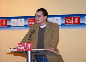 El portavoz del PSOE Europa, Marco Ferrara.