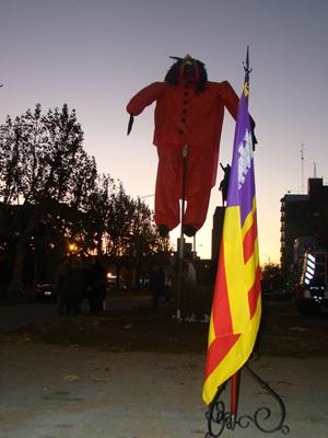 El festejo en Bolívar.
