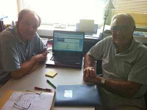 Antoni Bennássar y Fernando Bosch.