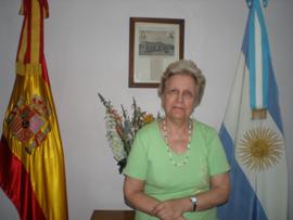 La presidenta del Hospital Español de Buenos Aires, Elma Espisúa.