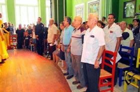 Asistieron más de 200 personas, entre los que estuvo el presidente de la FSEC, Julio Santamarina López.