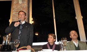 Intervención de Jorge Torres en el acto de asunción como nuevo presidente del Centro Gallego.