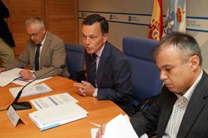 El conselleiro Agustín Hernández presentó la nueva normativa.