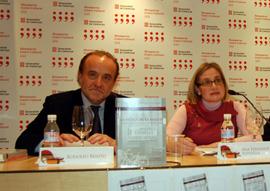 Rodolfo Benito, presidente de la Fundación 1º de Mayo, y Ana Fernández, coordinadora del CDM.