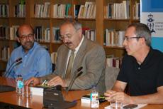 Carlos Méixome, Ramón Villares y Xosé Manuel Malheiro.
