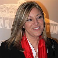 La secretaria de Relaciones Institucionales del PSOE Europa, Ángela Sabater.