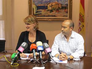 Rosa Estaràs y Antonio Gómez.