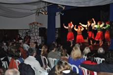 El público disfrutó con las actuaciones.