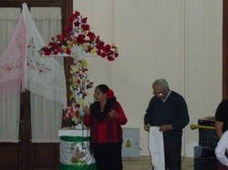 La Cruz en el Centro Andaluz.