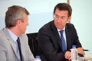 Núñez Feijóo acusó al Gobierno de Zapatero de tener una actitud
