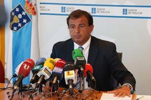 Javier Guerra en la reunión con el Clúster y con la Mesa del Diálogo.