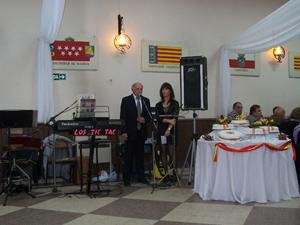 Intervención del presidente de la entidad, Rodolfo Asensio Gil.