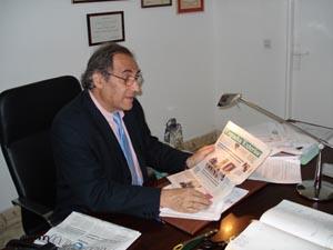 El diplomático Pablo Barrios.