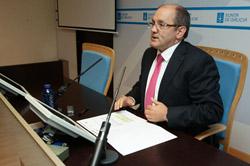 El director xeral Andrés Hermida.
